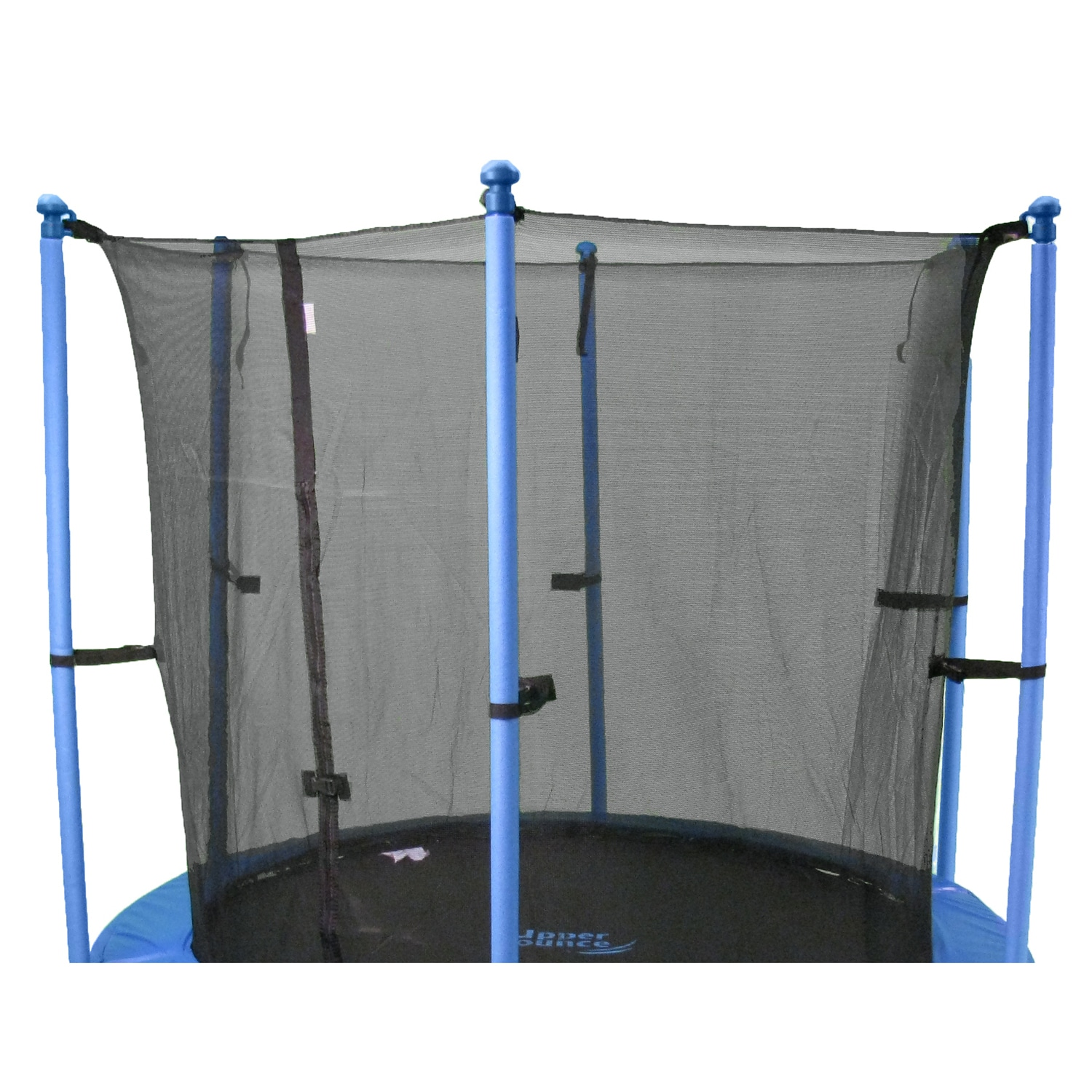 Upper Bounce 15-foot Round Trampoline Enclosure Safety Net for 6 Poles or 3 Arches at Sears.com