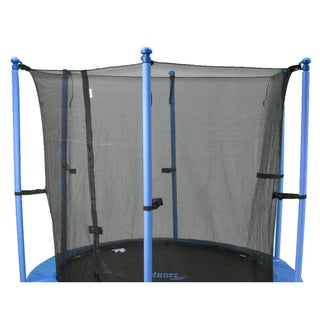 15-foot Round Trampoline Enclosure Safety Net for 6 Poles or 3 Arches