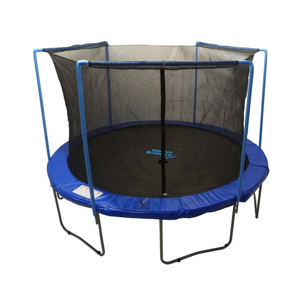 Round Trampoline Enclosure Safety Net (12-foot)