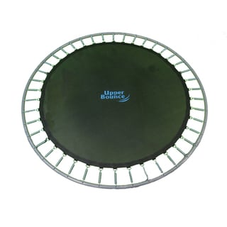 Upper Bounce 15-foot Round Trampoline Jumping Mat for Frames with 96 V-Rings 7-inch Springs