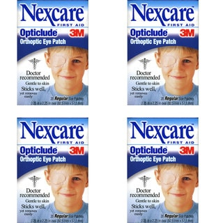 3M Nexcare Opticlude Orthoptic 20-count Eye Patches (Pack of 4)