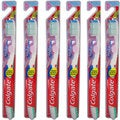 Colgate 360 Sensitive Extra Soft Toothbrush with Tongue Cleaner (Pack of 6)