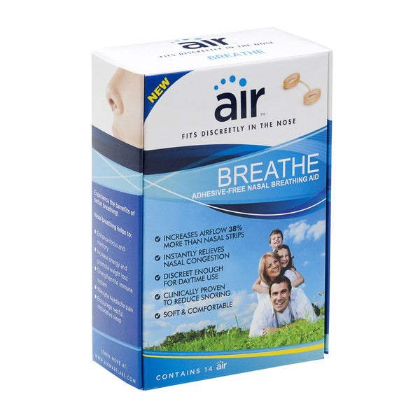 Air Breathe Advanced Nasal Breathing Aid to Increase Airflow (Pack of 14)
