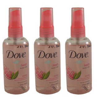 Dove Go Fresh 'Revive' Pomegranate and Lemon Verbena 3-ounce Body Spray (Pack of 3)