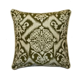 JAR Designs 'Ikat Green' Throw Pillow
