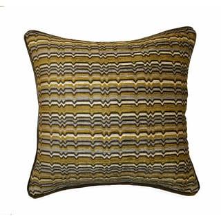 JAR Designs 'Zaney Citrine' Feather Filled Throw Pillow