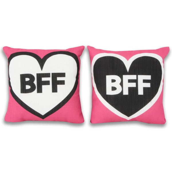 You Are My Sunshine Best Friend Forever Throw Pillows (Set of 2)