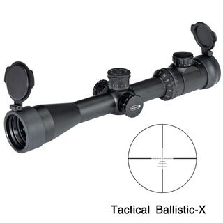 Weaver Kaspa 3-12x44mm Tactical Ballistic-X Reticle Rifle Scope