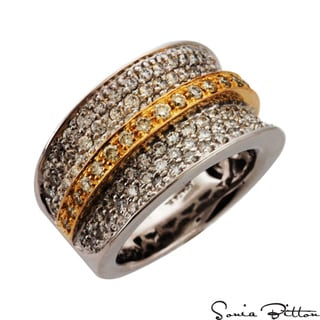 Sonia Bitton 14k Two-Tone Gold 1 1/2ct TDW Diamond Ring (G-H, SI1-SI2)