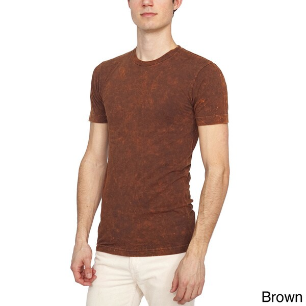 American Apparel Unisex Acid Wash Jersey Short Sleeve T-Shirt