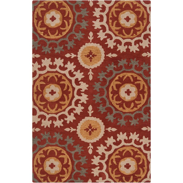 Hand-tufted Goldendale Wool Rug