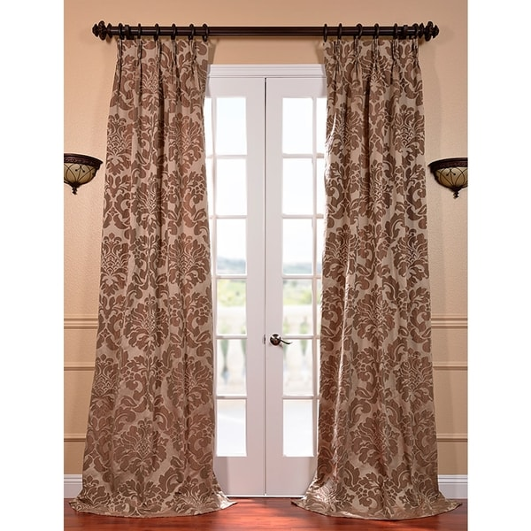 EFF Astoria Taupe And Mushroom Faux Silk Jacquard French