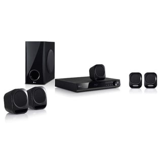 LG BH4120S 5.1 Home Theater System - 330 W RMS - Blu-ray Disc Player