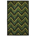 Missoni Chevron Stripe Teal Area Rug
