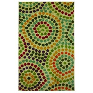 Mosaic Stones Multi Area Rug