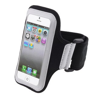 INSTEN White/ Black Sportband for Apple iPhone 5/ 5S