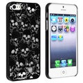 BasAcc Black/ Cute Skull Snap-on Case for Apple iPhone 5