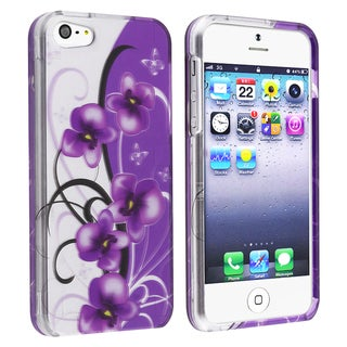 BasAcc Twilight Petunias Snap-on Case for Apple� iPhone 5