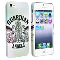 BasAcc White/ Angels Snap-on Rubber Coated Case for Apple� iPhone 5
