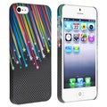 BasAcc Rainbow Star Snap-on Rubber Coated Case for Apple iPhone 5