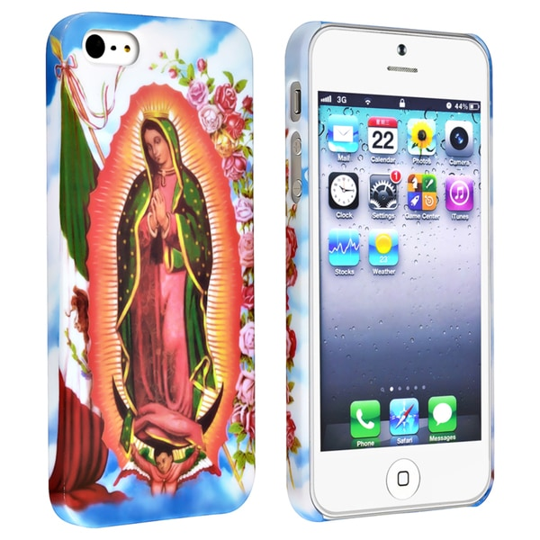 BasAcc Holy Mary Snap-on Rubber Coated Case for Apple® iPhone 5