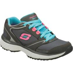 Women's Skechers Agility Rewind Gray/Blue