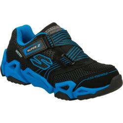 Boys' Skechers Air Tricks Fierce Flex Gravitron Black/Blue