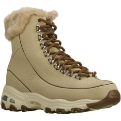 Women's Skechers D'lites Snow Bird Brown