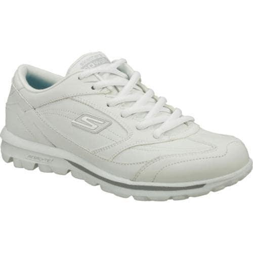 Women's Skechers GOwalk One Step White/Silver