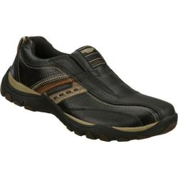 Men's Skechers Relaxed Fit Artifact Excavate Black/Brown