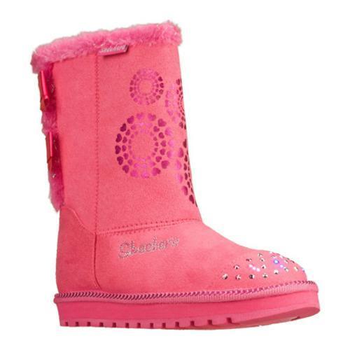 Girls' Skechers Twinkle Toes Keepsakes Baby Bow Pink