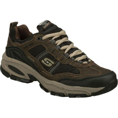 Men's Skechers Vigor 2.0 Advantage Brown/Black