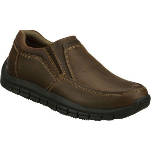 Men's Skechers Work Relaxed Fit Magma Solace Brown