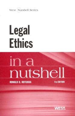 Legal Ethics in a Nutshell (Paperback)