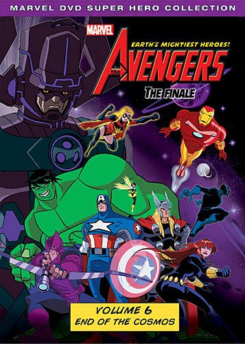 Avengers: Earth's Mightiest Heroes! Vol. 6: End of the Cosmos (DVD)