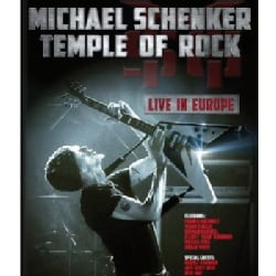 Temple of Rock: Live in Europe: Michael Schenker (Blu-ray Disc)