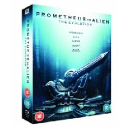 Prometheus to Alien: The Evolution (Limited Edition) (Blu-ray Disc)