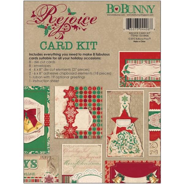 Rejoice Card Kit-Makes 8 Cards With Envelopes
