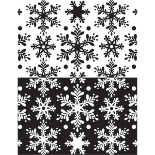Melt Art Texture Treads-Snow Flurries