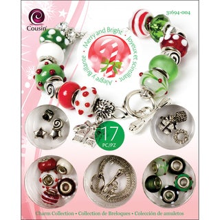 Christmas Trinket Bead Kit-Gift Charm