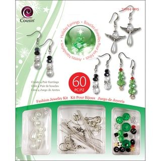 Christmas Trinket Bead Kit-Earrings
