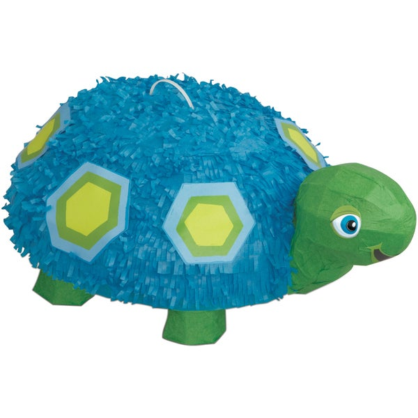 "Pinata 18""X11.5""-Blue Turtle"