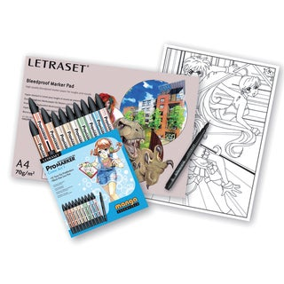 Letraset Manga Starter Pack-