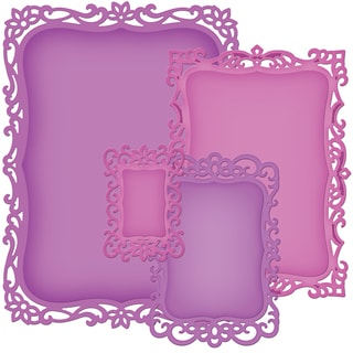 Spellbinders Nestabilities Decorative Elements Dies-Labels 8