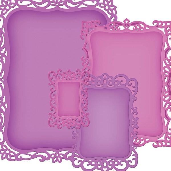 Spellbinders Nestabilities Decorative Elements Dies-Labels 8