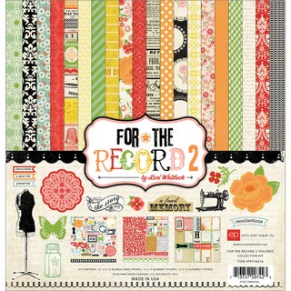 "For The Record 2 Tailored Collection Kit 12""X12""-"