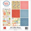 "Grandma's Kitchen Collection Kit 12""X12""-"