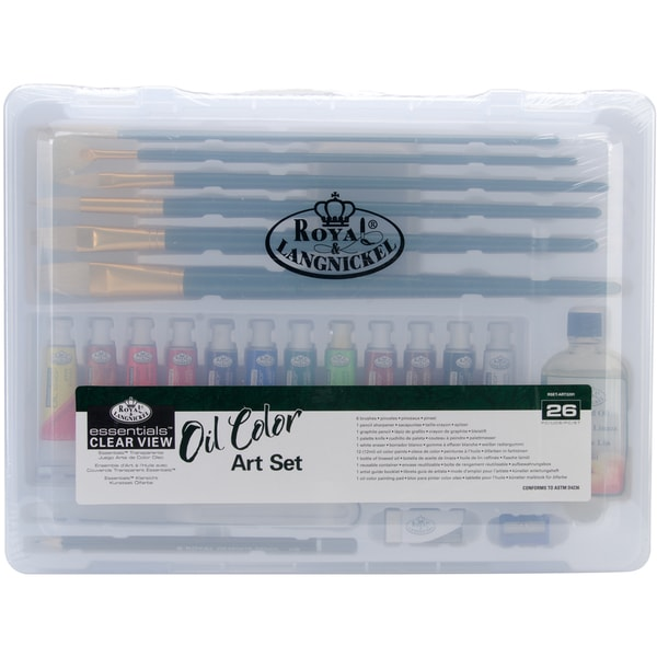 Clearview Medium Oil Painting Art Set