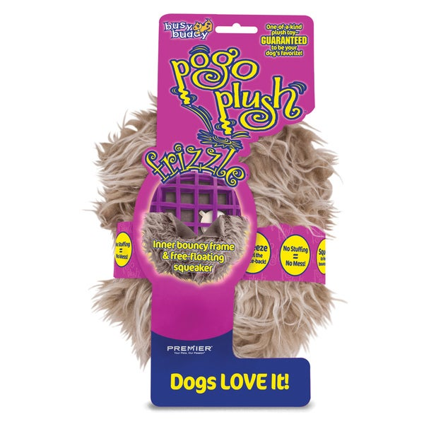 Premier Pogo Small Plush Frizzle Dog Toy