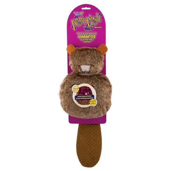 Premier Pogo Plush Beaver Large Dog Toy